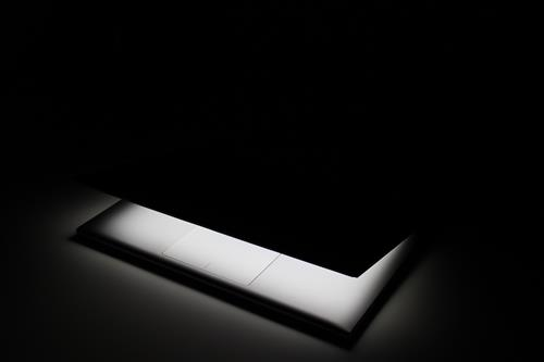 Glowing laptop and touchpad #3