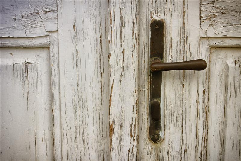 Old door handle
